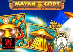 Mayan Gods -  Red Tiger