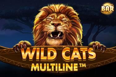 Wild Cats Multiline - Red Tiger